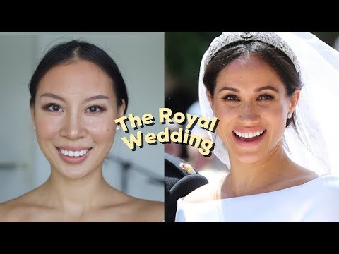 MEGHAN MARKLE ROYAL WEDDING MAKEUP TUTORIAL
