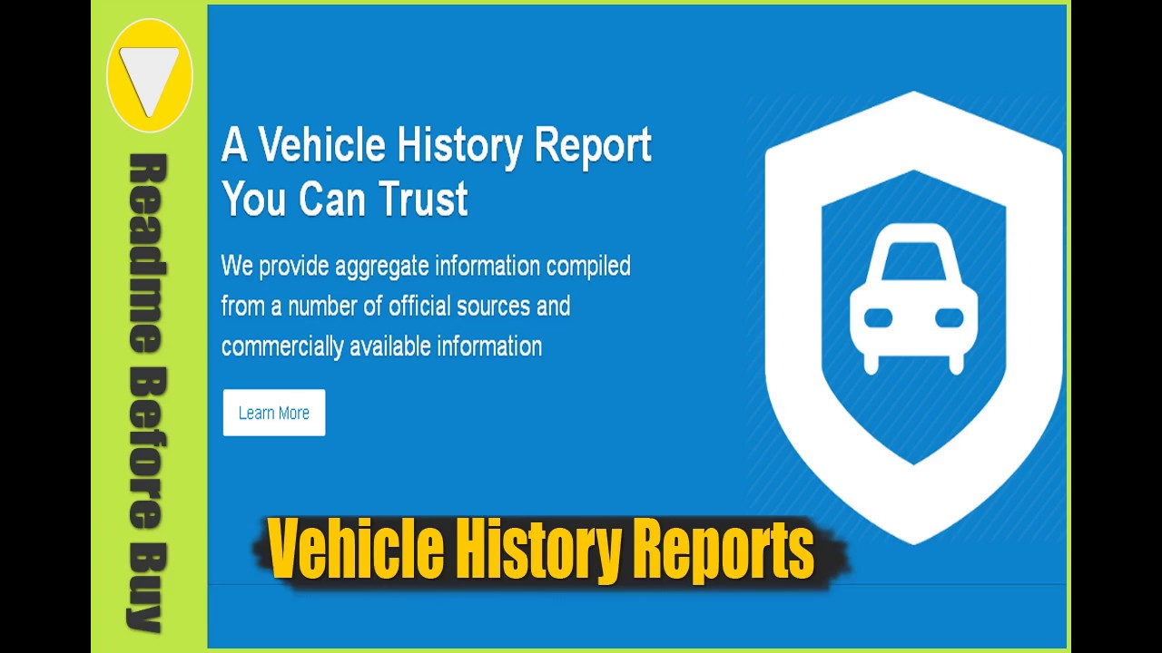 Vin Number Check | Vehicle History Report Review - YouTube