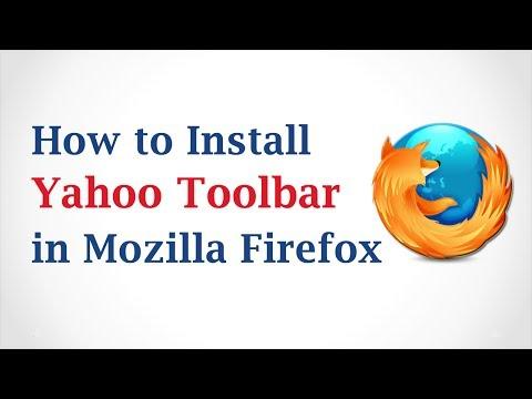 How to Install Yahoo Toolbar in Mozilla Firefox