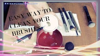 How to - Easy cleaning your make-up brushes with the Solid Blender Cleanser Thumbnail