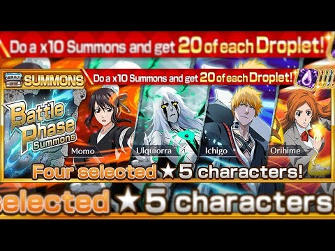 Bleach Brave Souls: Summons MATADOR!!! Battle Phase!!! Tentar ou não tentar!? - Omega Play
