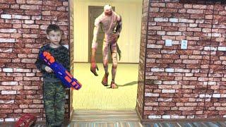 Nerf Game Friday the 13th Living Mummy Нерф Игра Пятница 13 Ожившая мумия