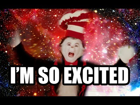 CAT IN THE HAT - I'M SO EXCITED