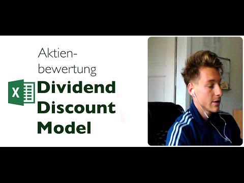 Aktienbewertung - Dividend Discount Model in Excel