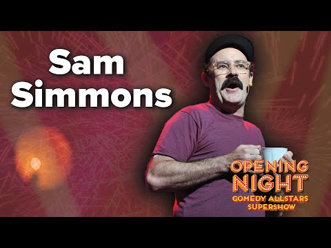 Sam Simmons - 2015 Opening Night Comedy Allstars Supershow