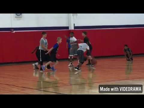 10 Year Old Kyle Roberts 29 Point 4 Assist Performance