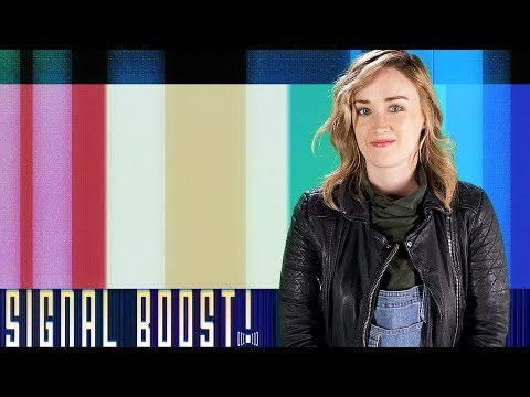 Kelly Sue DeConnick, The Neapolitan Novels, and Rupi Kaur  Signal Boost! w Ashley Johnson