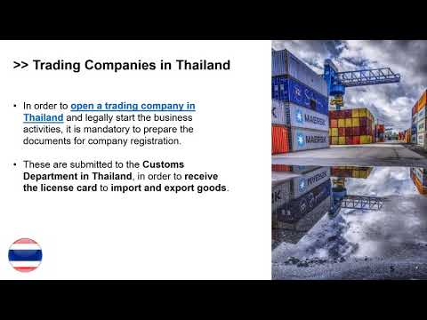 Open a Trading Company in Thailand