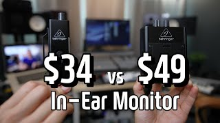 The Most Affordable In-Ear Monitor Amp I Behringer P1 vs P2