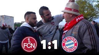 1. FC NÜRNBERG VS BAYERN MÜNCHEN│DIE BAYERN MIT GLÜCK AM ENDE GEGEN DEN GLUBB