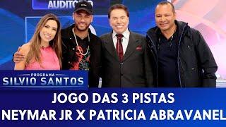 Jogo das 3 Pistas - Neymar Jr X Patricia Abravanel | Programa Silvio Santos (21/07/19)