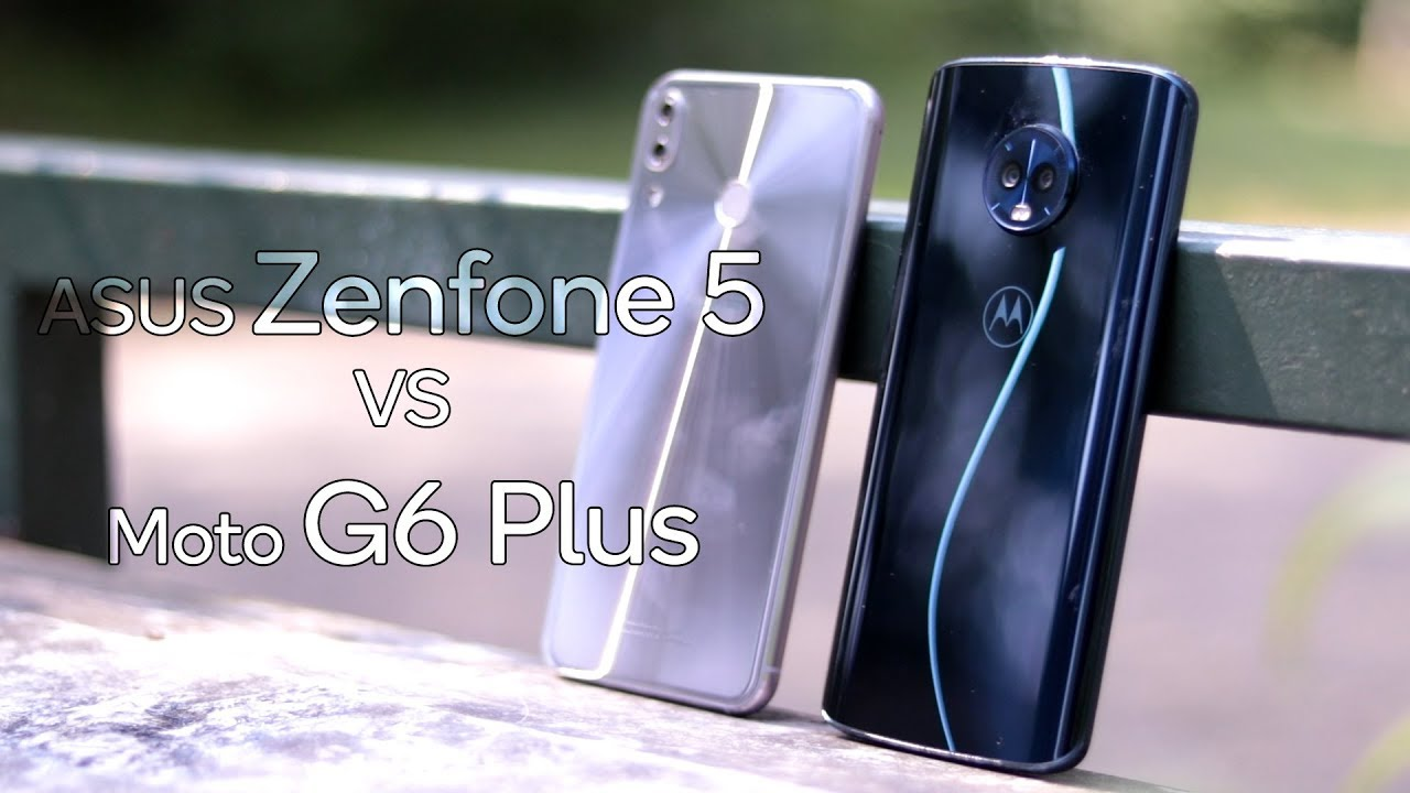 Asus Zenfone 5 vs Moto G6 Plus, how much difference does €100 make?