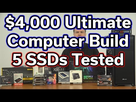 $4,000 Ultimate Computer Build - Part 7 - SSD Performance