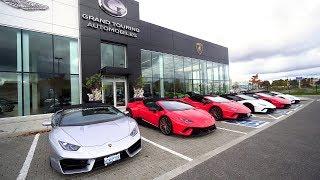 Lamborghini Spyder Drive Event/Showroom Tour with Cars & Chai Toronto!