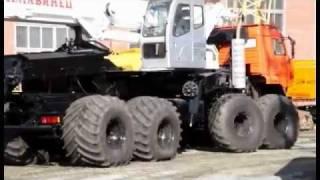 Кран-снегоболотоход КС-55733Б ЧЕЛЯБИНЕЦ