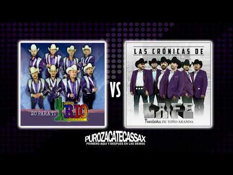 Conjunto Rio Grande vs La Fe Norteña de Toño Aranda (ALBUM 2017 MIX) -Dj Tito