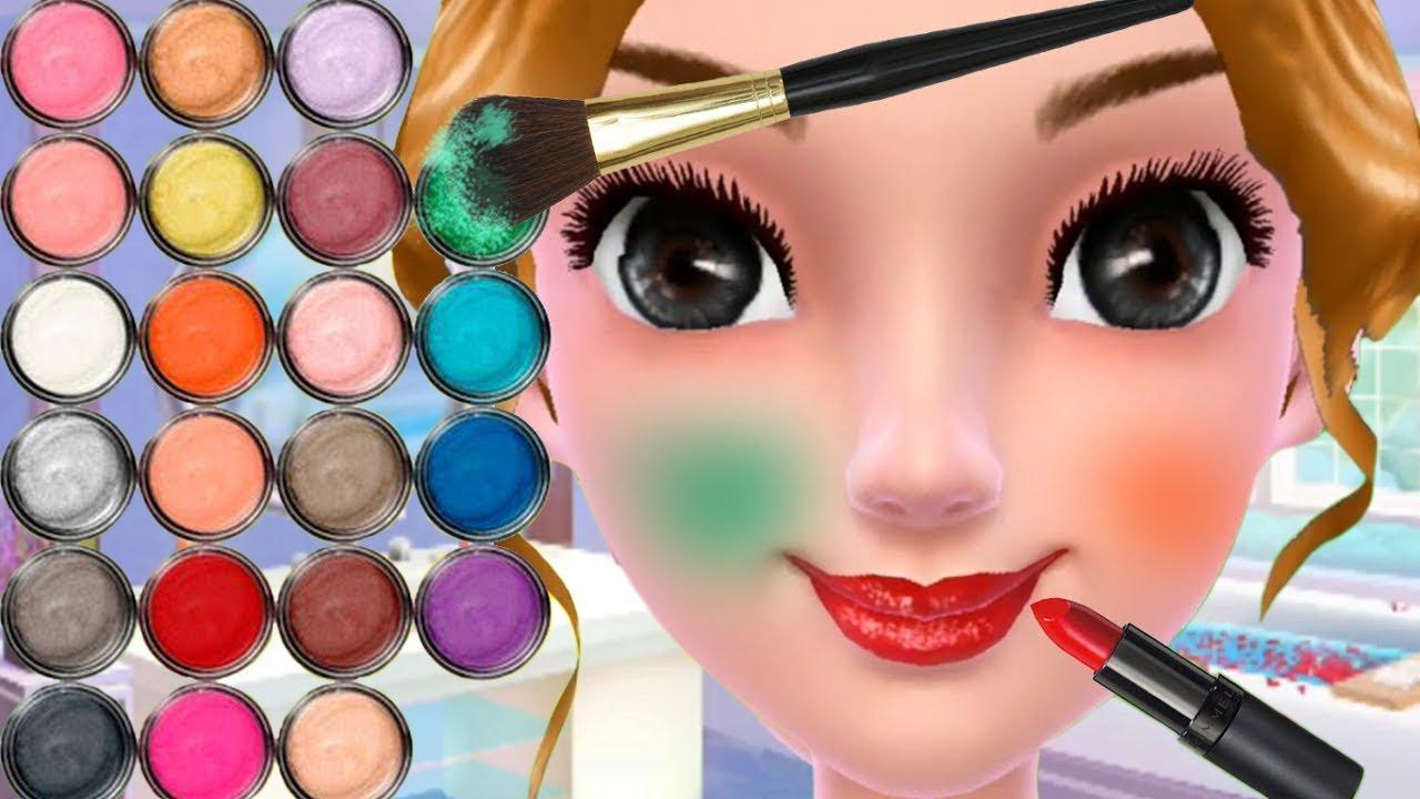 Cómo Maquillarse Juegos Para Chicas Cambio De Imagen Vestir Las Niñas Aprenden Maquillaje