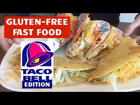 GLUTEN FREE AT TACO BELL | Eating Out on a Gluten Free Diet