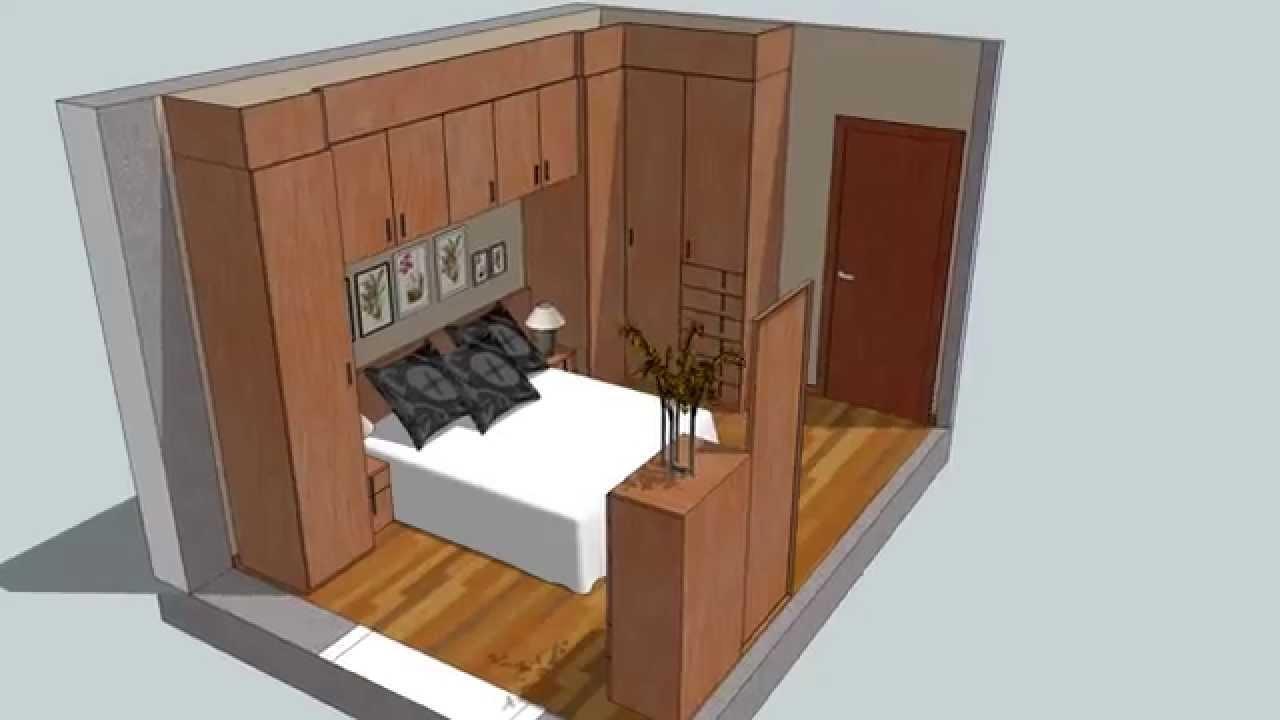 Dormitorio puente en Nogal  YouTube