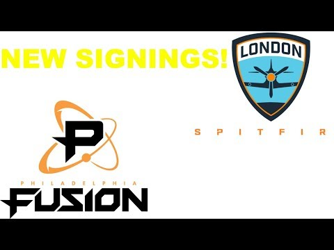 Philadelphia Fusion Trades Hotba To Guangzhou OWL! London Spitfire Announce 2 Players!