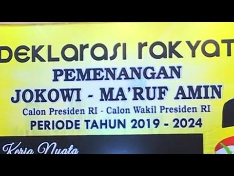 Relawan Partai Golkar Deklarasikan Dukung Jokowi-Ma'ruf Mp3