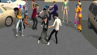 LMFAO-Party Rock Anthem ft Lauren Bennett, GoonRock The sims 2 Version