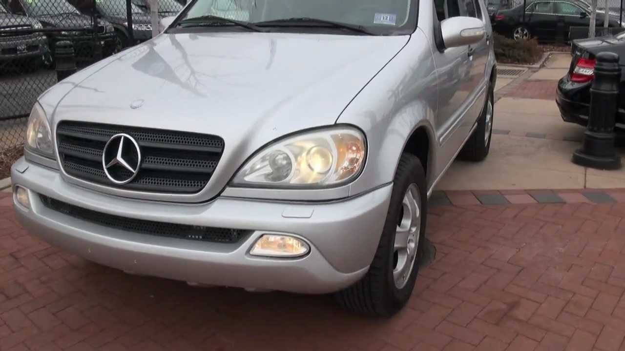 2002 mercedes benz ml320 4matic doovi