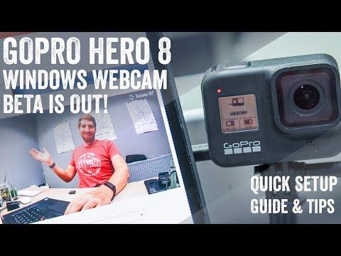 GoPro Webcam Windows Beta Now Out! Quick Setup Guide