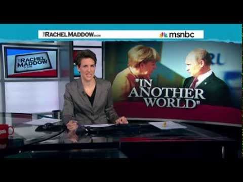 Rachel Maddow -Energy dependence softens Europe on Russia 03.03.2014