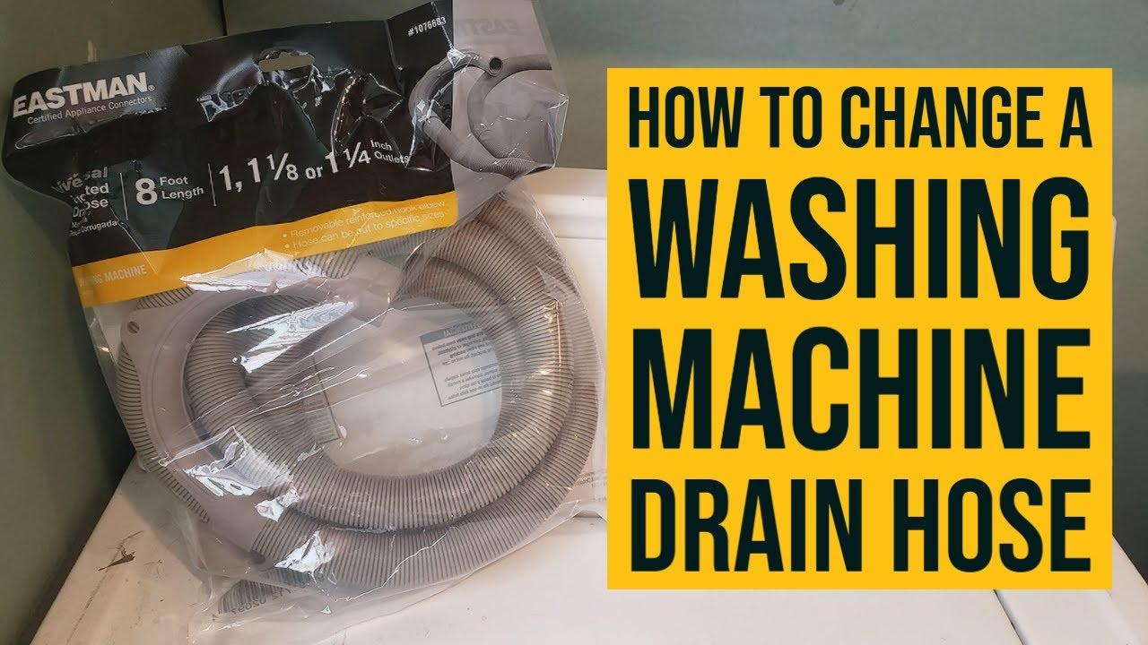 How To Change A Washing Machine Drain Hose (EASY!)