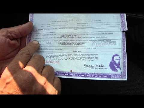 re-done / re-edited How To Transfer A Car Title In Illinois - He Did Work For A Ford Explorer Part 5