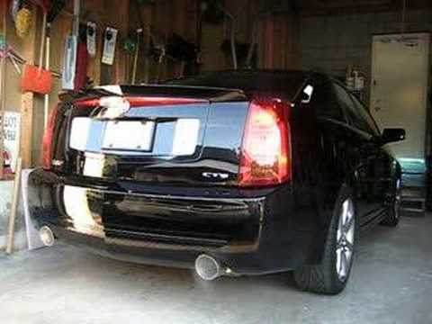 2004 Cadillac Cts V With B Amp B Exhaust Youtube