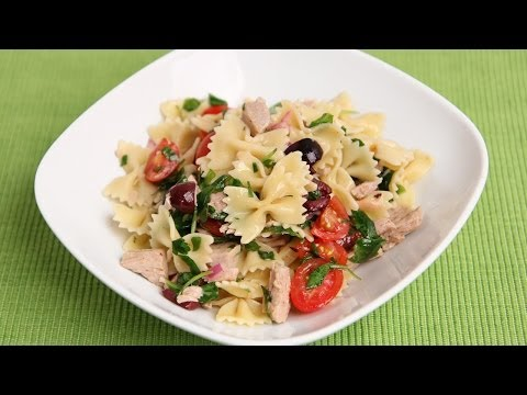 Italian Tuna Pasta Salad Recipe - Laura Vitale - Laura In The Kitchen Episode 757