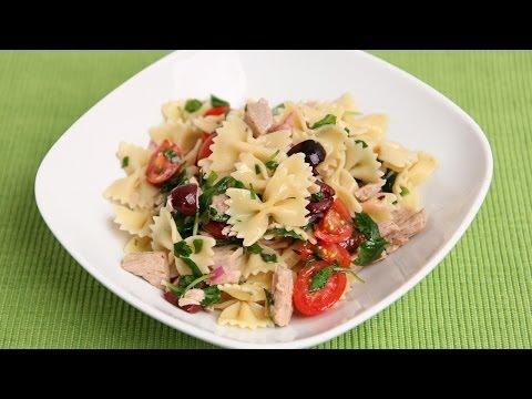 Italian Tuna Pasta Salad Recipe - Laura Vitale - Laura in the Kitchen Episode 757
