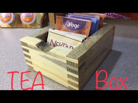 Box joint Teabox, Littlewierdshop