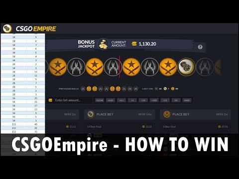 CSGOEmpire How to WIN [FREE Excel Spreadsheet]