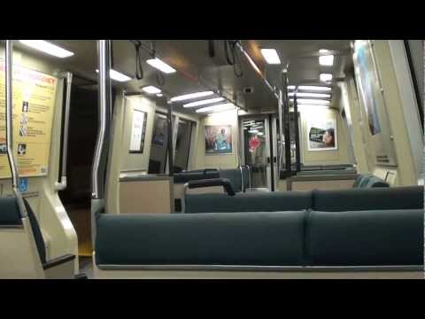 BART From MacArthur to Richmond - Full Section Ride (HD)