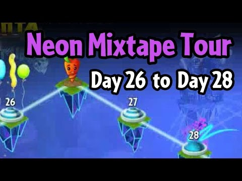 Plants vs Zombies 2 - Neon Mixtape Tour Day 26 to Day 28
