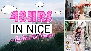 Gambar cover EUROPE TRAVEL VLOG #2: Nice, France Part 2/2 - St Paul De Vence ♥ MUST SEE in French Riviera ♥