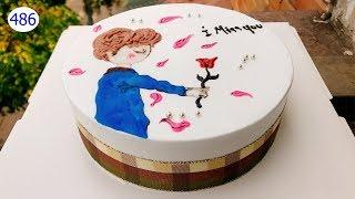 Cream-shaped cake decorating bettercreme (486) Học Làm Bánh Kem - Hoàng Tử Nhỏ (486)