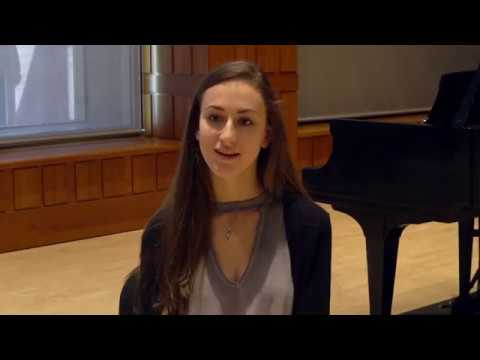 Life at the Young Artist Summer Program: Sophia