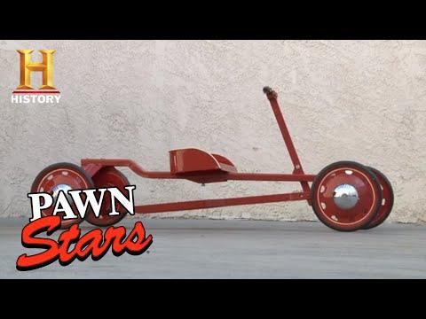 Pawn Stars: RICK GAMBLES on Antique Toy Car (Season 8) | History