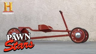 Pawn Stars: RICK GAMBLES on Antique Toy Car (Season 8) | History