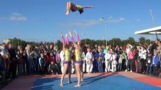 Спортивная акробатика/женская тройка: Н. Колмогорова, А. Козолуп, Е. Шевчук/Сумы