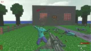 Custom Zombies Map: Minecraft | Part 1 of 4
