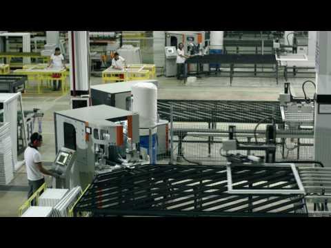 Автоматизированная фабрика окон Imzo Akfa