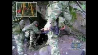 inedito Bombardeado campamento guerillero de las farc destrozos y heridos