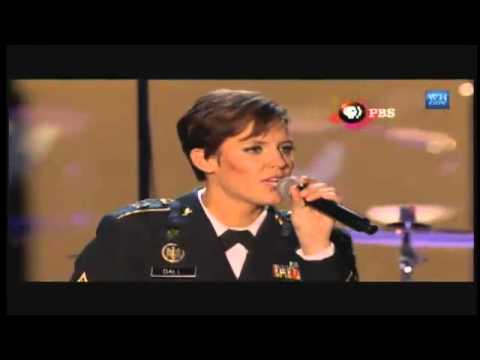 Standing Ovation: Rising Fawn Soldier Sings at