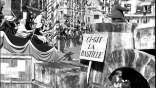 1938 - La Marseillaise   Extr 6   l'arrivée des  volontaires marseillais à Paris