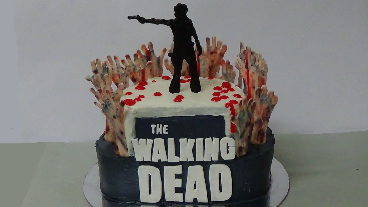 Walking Dead Cake Decorations